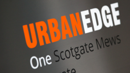 Urban Edge Architecture Sign