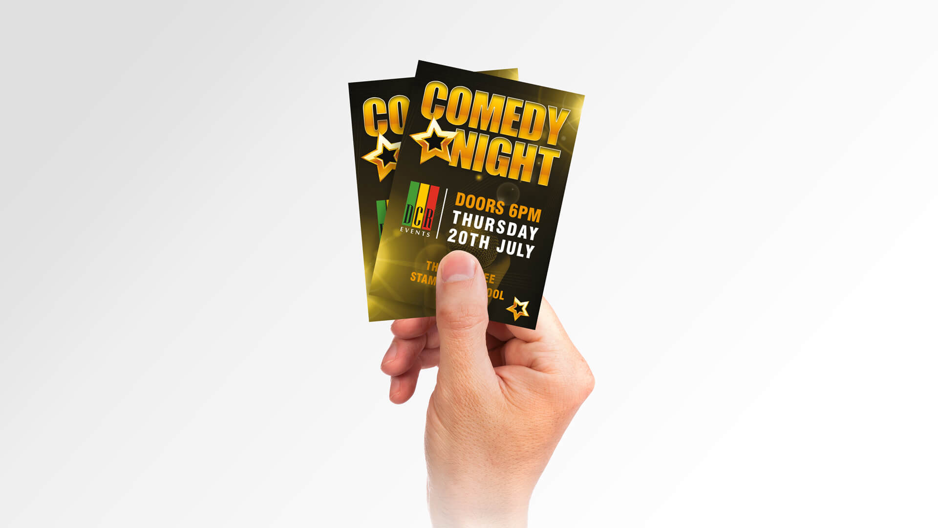 Comedy Night Marketing Materials