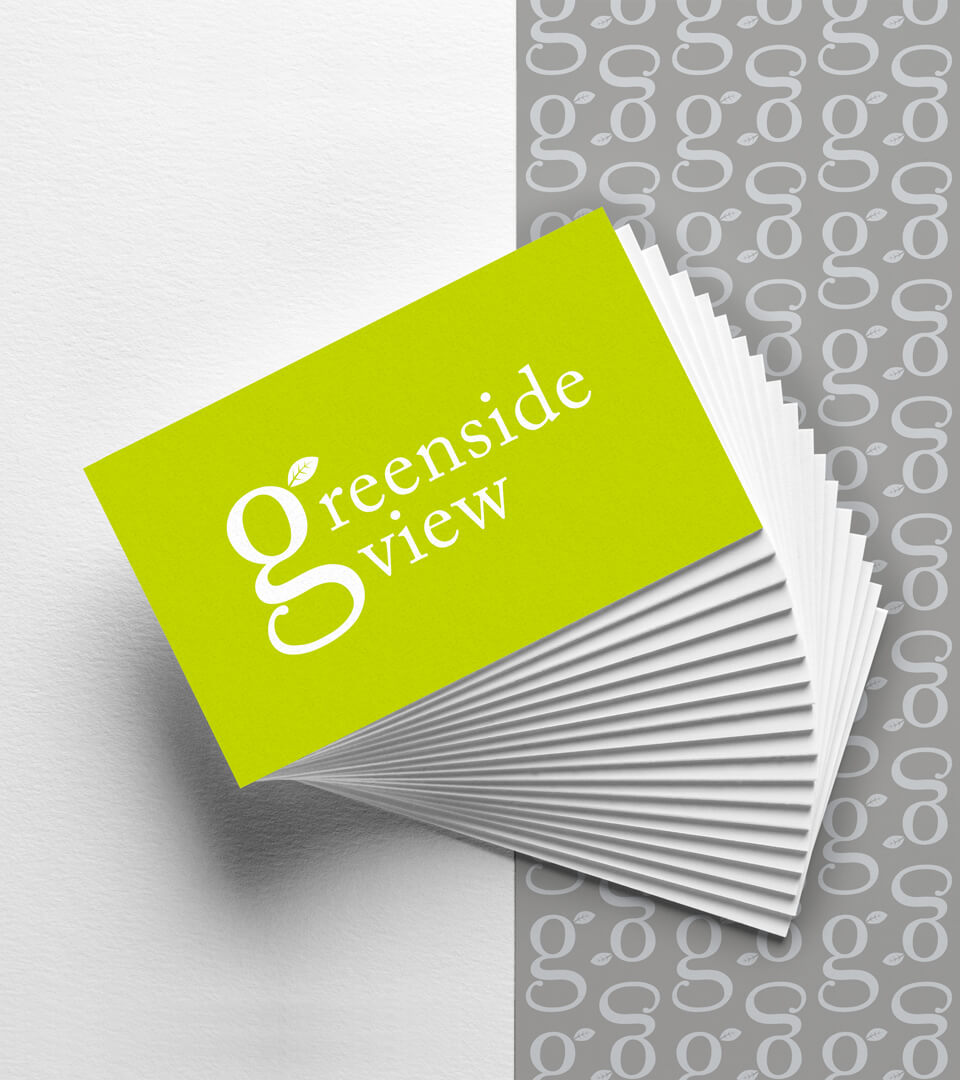 Greenside View Business Cards