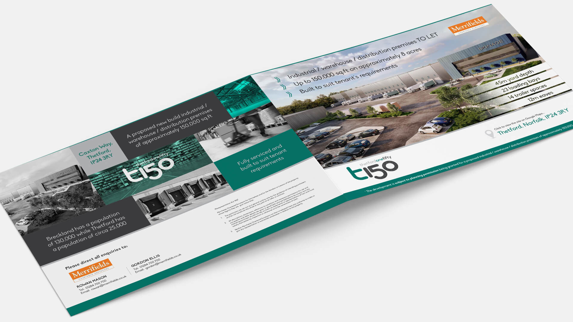 T150, Thetford Marketing Brochure