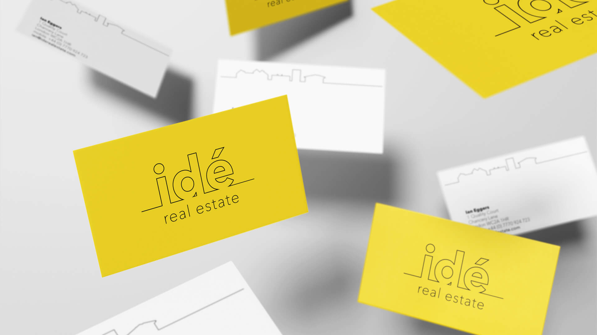 Idé Real Estate Business Cards