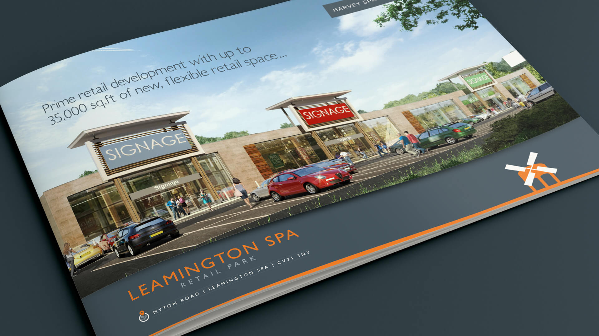 Leamington Spa Retail Park Marketing Brochure