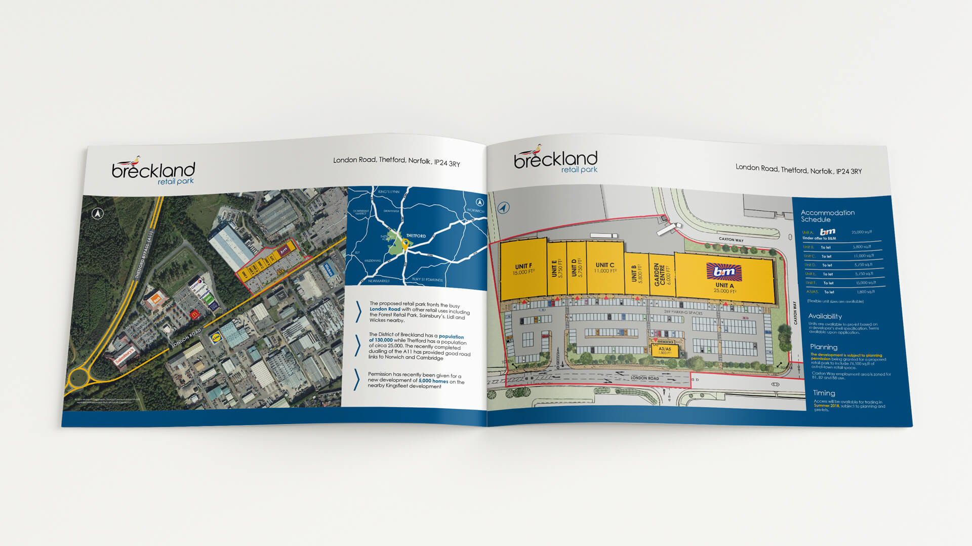 Breckland Retail Park Marketing Brochure