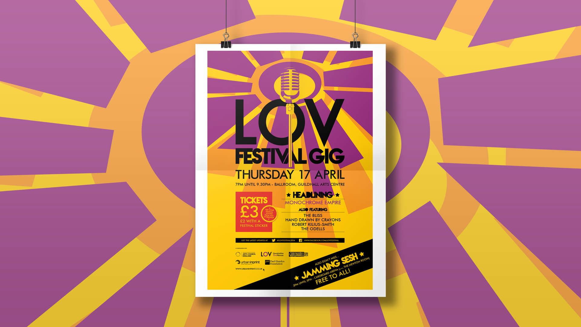 LOV Festival Poster