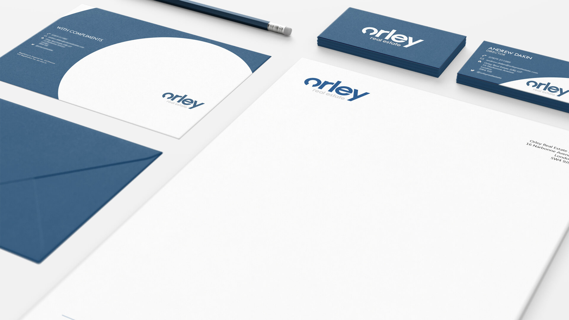 Orley Real Estate Stationery