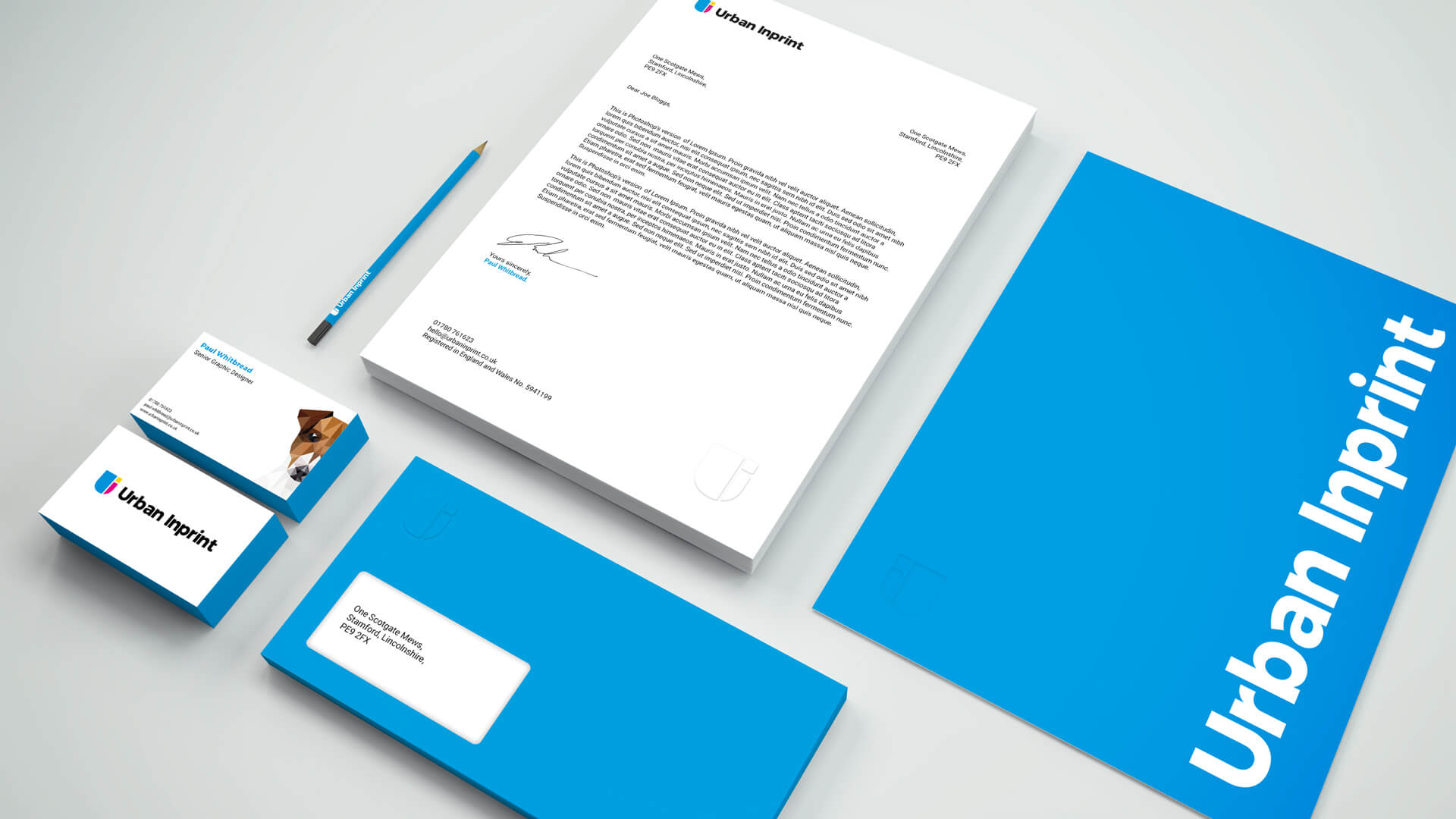 Urban Inprint Stationary