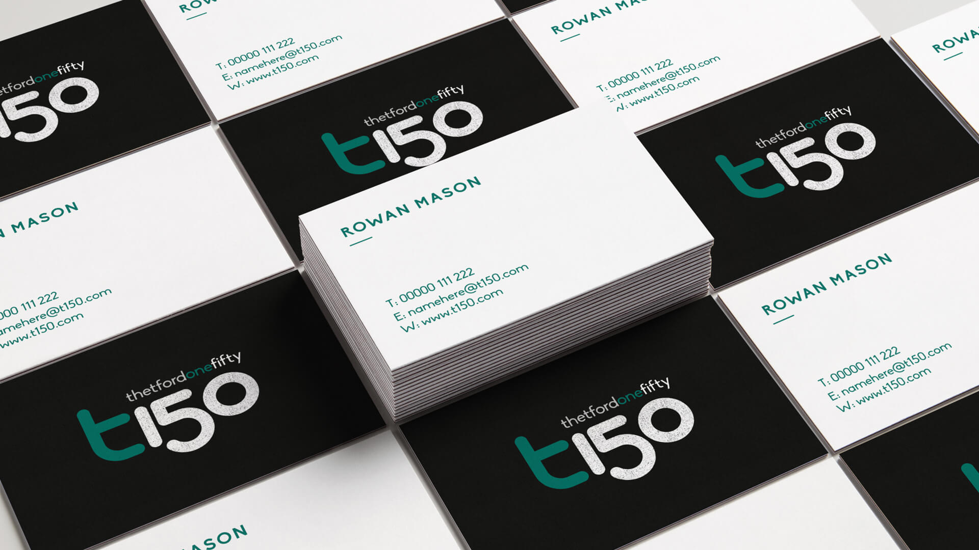 T150, Thetford Business Cards