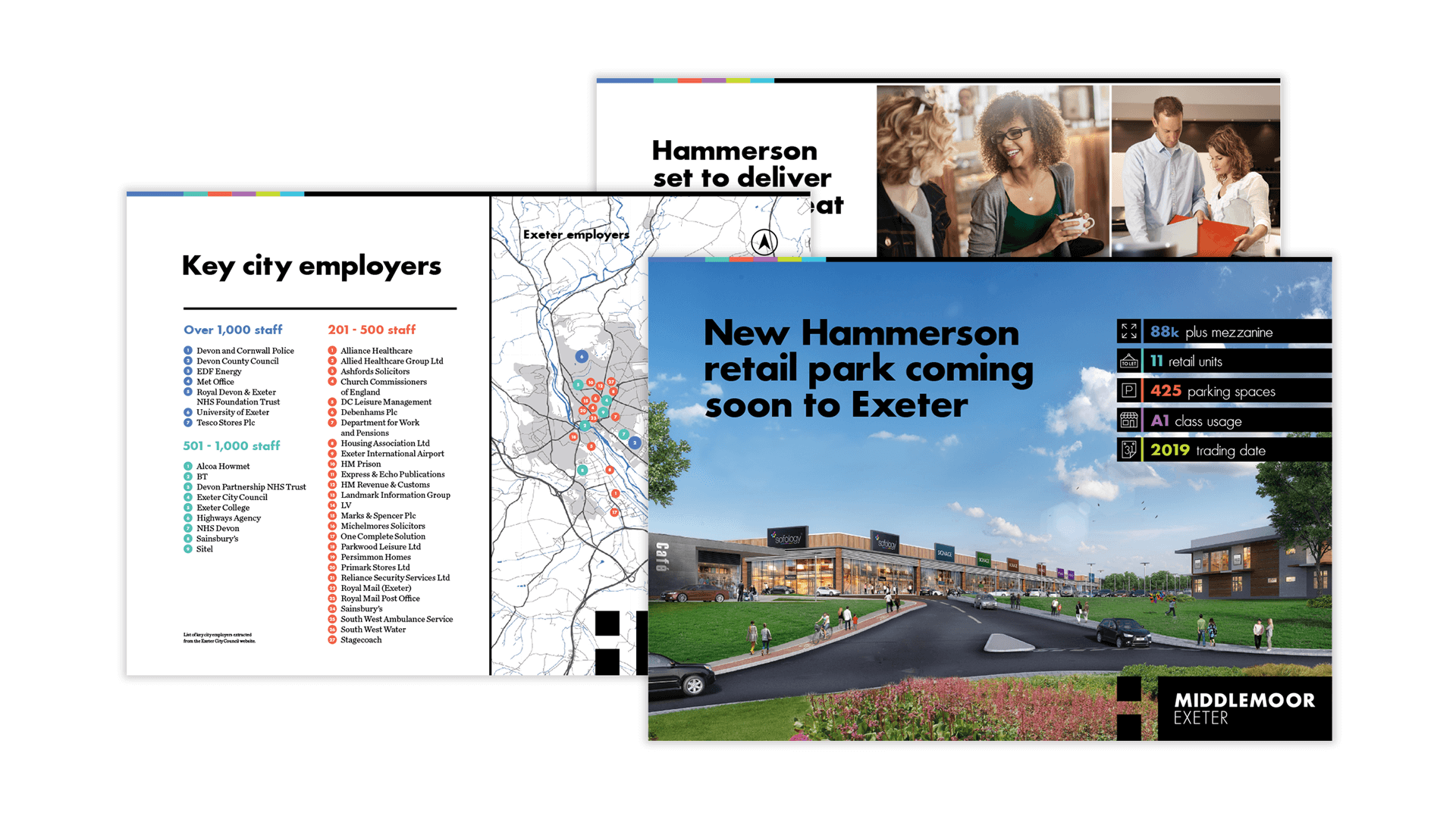 Hammerson - Marketing brochures & hoardings