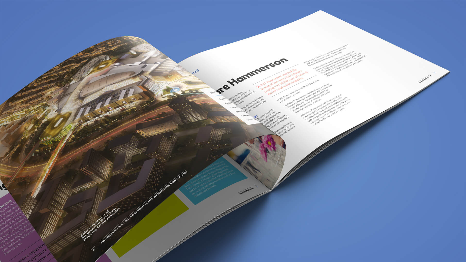 Hammerson - Marketing brochures & hoardings